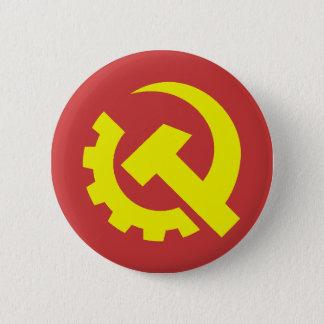 共産党米国ボタン 5.7CM 丸型バッジ