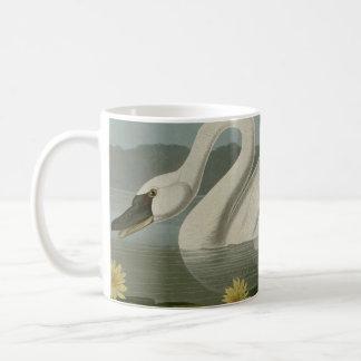 共通のアメリカの白鳥 コーヒーマグカップ