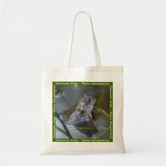 共通のカエルのバッグ トートバッグ
