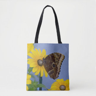 共通のバックアイズの蝶 トートバッグ
