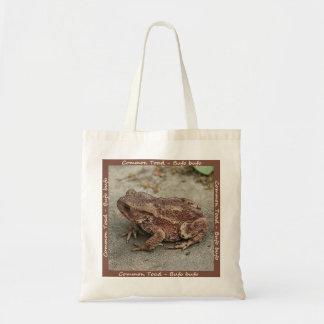 共通のヒキガエルのバッグ トートバッグ