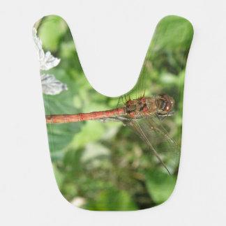 共通のヘビウ科のトンボのよだれかけ ベビービブ