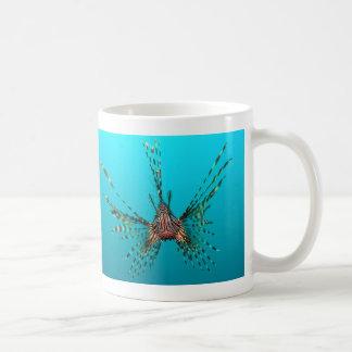 共通のミノカサゴのPterois Volitans コーヒーマグカップ