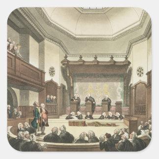 共通の嘆願の裁判所、ウエストミンスターホール スクエアシール
