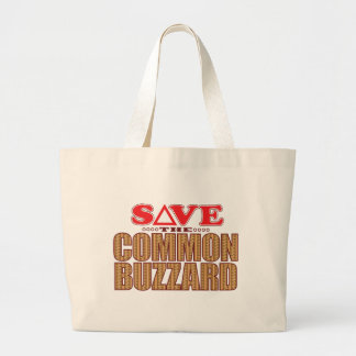 共通のBuzzardの保存 ラージトートバッグ