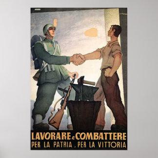 兵士および労働者 ポスター
