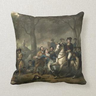 """""""兵士としてジョージ・ワシントン""""の枕 クッション"""