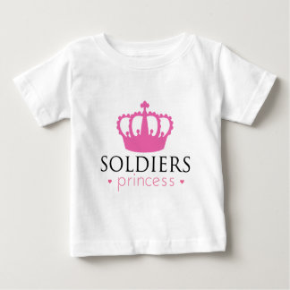 兵士のプリンセス ベビーTシャツ