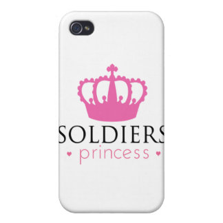 兵士のプリンセス iPhone 4/4Sケース