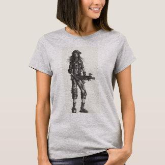 兵士の女の子2482 Tシャツ