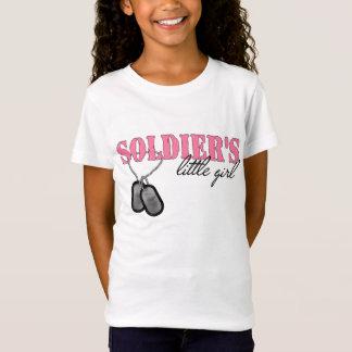 兵士の小さな女の子 Tシャツ