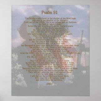 兵士の非難の賛美歌91 ポスター