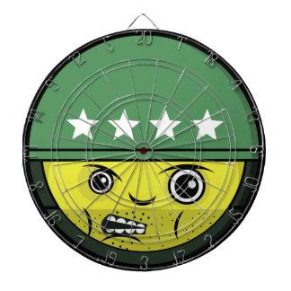 兵士の顔 ダーツボード