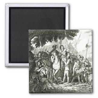 兵士へのフィリップシドニーKindness、1815年 マグネット