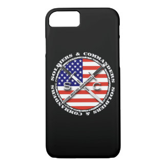 兵士及びCircular Logo司令官のiPhone 7 iPhone 8/7ケース