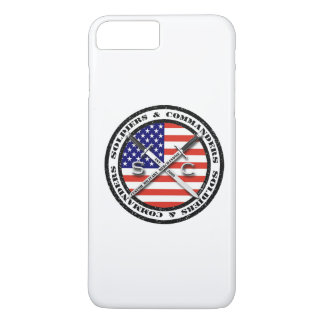 兵士及びCircular Logo司令官のiPhone 7 iPhone 8 Plus/7 Plusケース