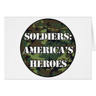 兵士: アメリカの英雄 カード