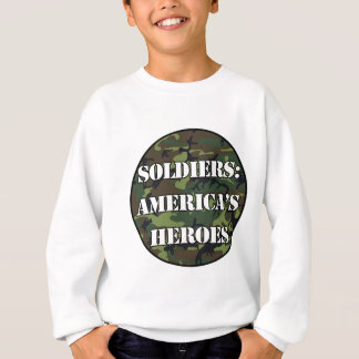 兵士: アメリカの英雄 スウェットシャツ