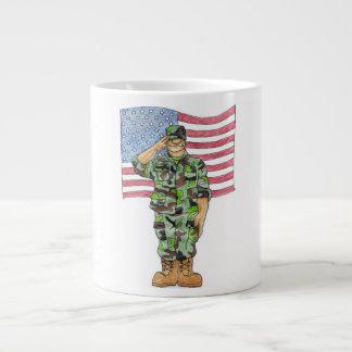 兵士 ジャンボコーヒーマグカップ