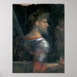 兵士、c.1505-10 ポスター