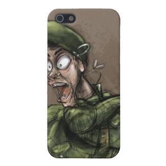 兵士 iPhone SE/5/5sケース