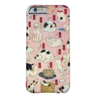 其のまま地口猫飼好五十三疋の(の中の)、国芳猫(2)、Kuniyoshi、Ukiyo-e Barely There iPhone 6 ケース