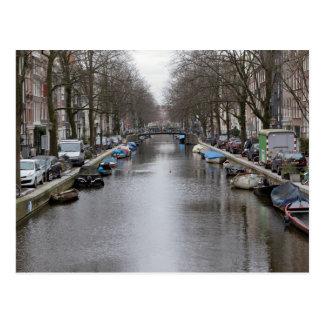 典型的なアムステルダム ポストカード