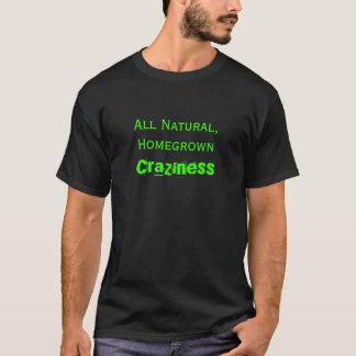 内地産の精神異常 Tシャツ