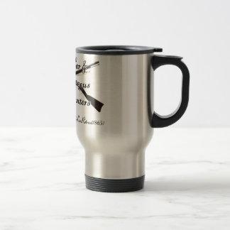 内戦および雑多な遺物のハンター旅行コーヒーカップ トラベルマグ
