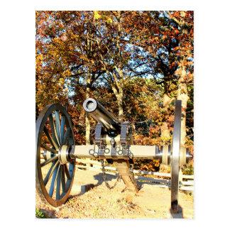 内戦の大砲 ポストカード