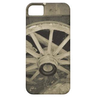 内戦の荷馬車の車輪 iPhone SE/5/5s ケース