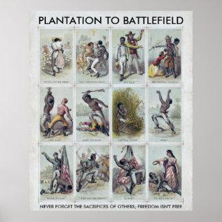 内戦: プランテーションから戦場への ポスター