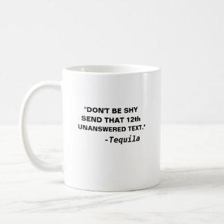 内気が送りますそれに第12未解答の文字- tequ --をあないで下さい コーヒーマグカップ