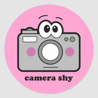 内気なカメラ ラウンドシール