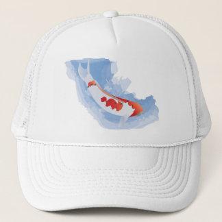 内気なコイ(デジタル)の帽子 キャップ