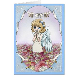 内気な妖精のAnnabelのバースデー・カード カード