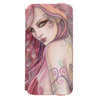 内気な浮気者の妖精の抽象芸術のモダンなファンタジーの芸術 INCIPIO WATSON™ iPhone 5 財布型ケース