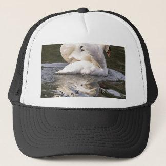 内気な白鳥 キャップ