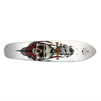 内臓無し栄光無し 21.6CM スケートボードデッキ