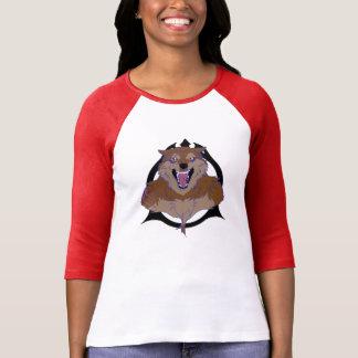 内部のオオカミ Tシャツ
