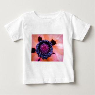 内部のケシ ベビーTシャツ