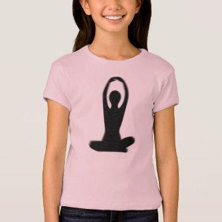 内部のヨガ Tシャツ