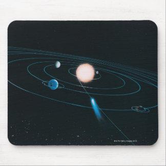 内部の太陽系の世界 マウスパッド