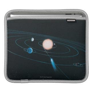 内部の太陽系の世界 iPadスリーブ