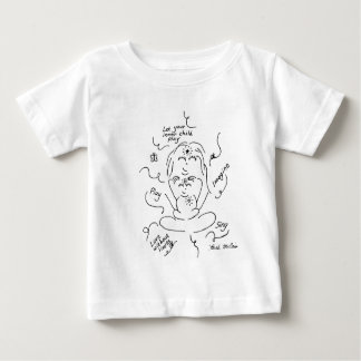 内部の子供のベビーのワイシャツ ベビーTシャツ