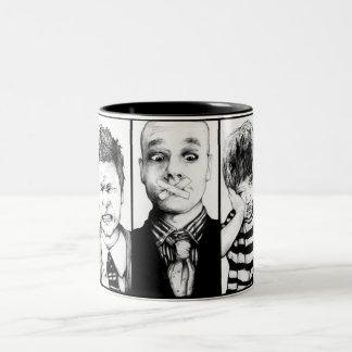 内部の子供 ツートーンマグカップ