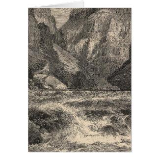 内部の峡谷 カード