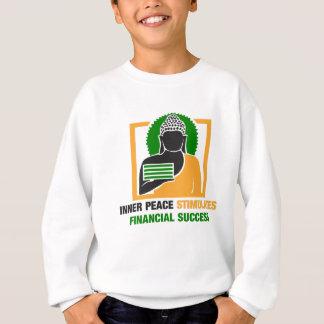 内部の平和は財政の成功を刺激します スウェットシャツ