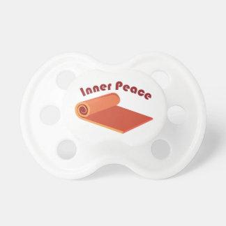 内部の平和 おしゃぶり