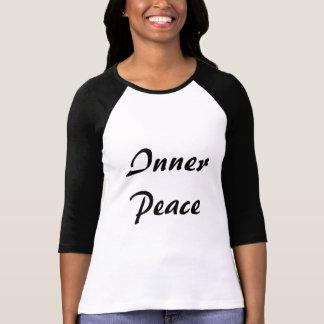 内部の平和 Tシャツ